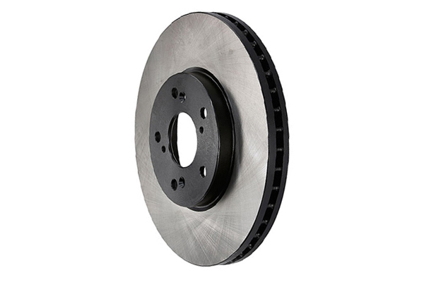 centric premium high carbon brake rotors left