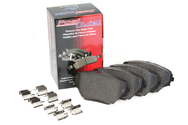 posi quiet extended wear brake pads sample image
