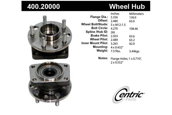 centric-CE 40020000 Fro
