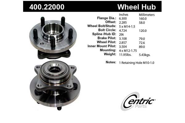 centric-CE 40022000E Fro