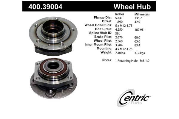 centric-CE 40039004E Fro
