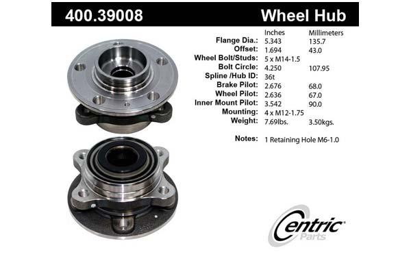 centric-CE 40039008E Fro