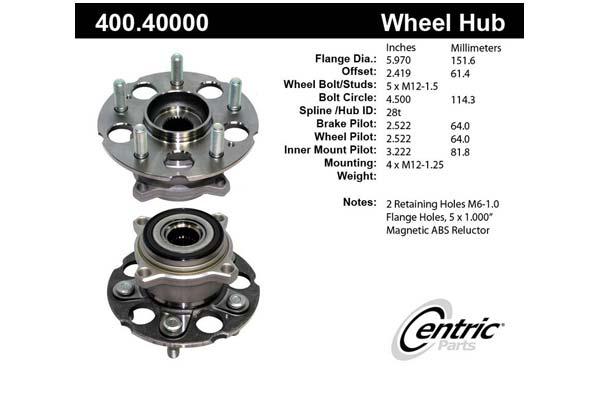 centric-CE 40040000E Fro