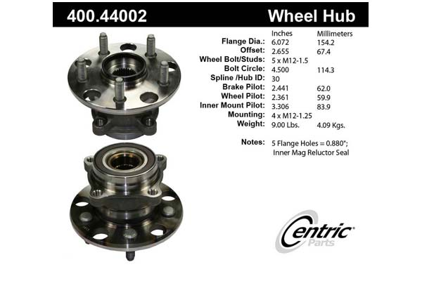 centric-CE 40044002 Fro