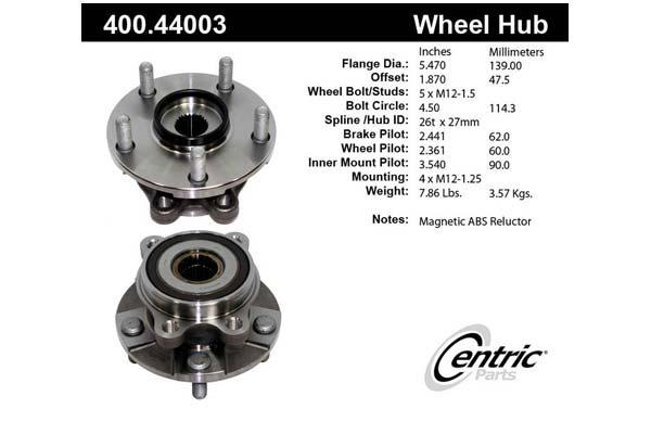 centric-CE 40044003E Fro