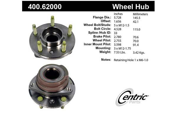 centric-CE 40062000E Fro