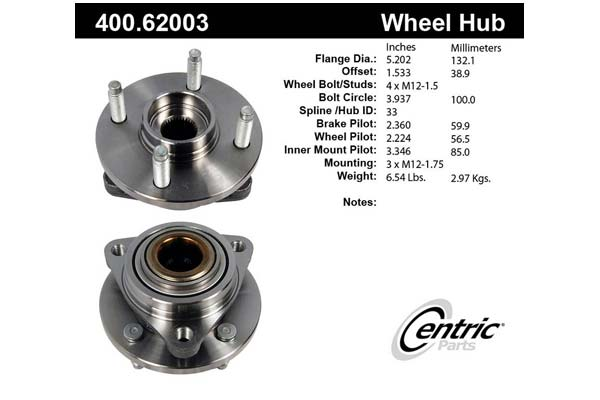 centric-CE 40062003E Fro