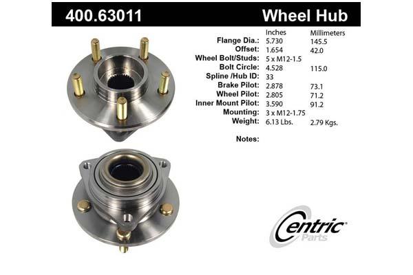 centric-CE 40063011E Fro