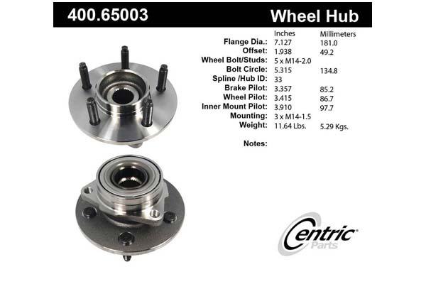 centric-CE 40065003E Fro