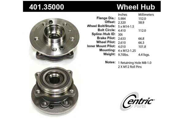 centric-CE 40135000 Fro