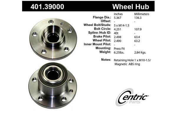 centric-CE 40139000E Fro