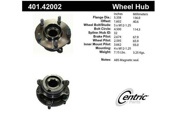 centric-CE 40142002 Fro