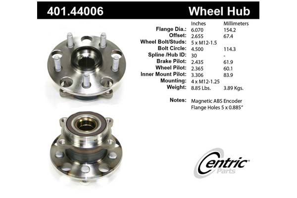 centric-CE 40144006 Fro