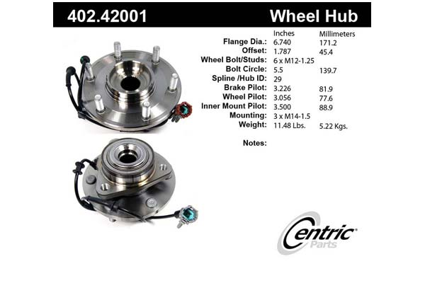 centric-CE 40242001 Fro