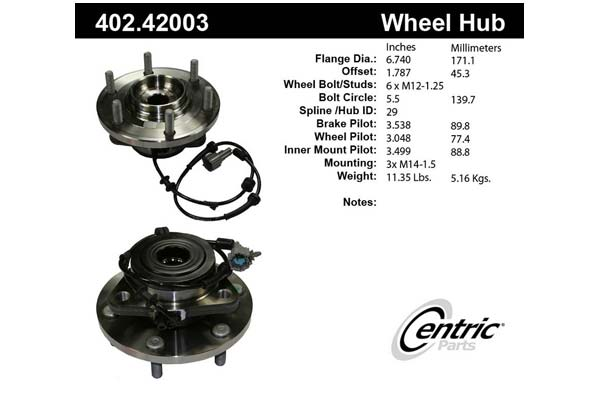 centric-CE 40242003 Fro