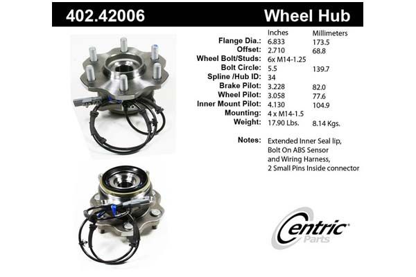centric-CE 40242006 Fro