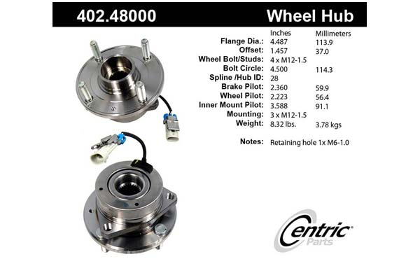 centric-CE 40248000 Fro