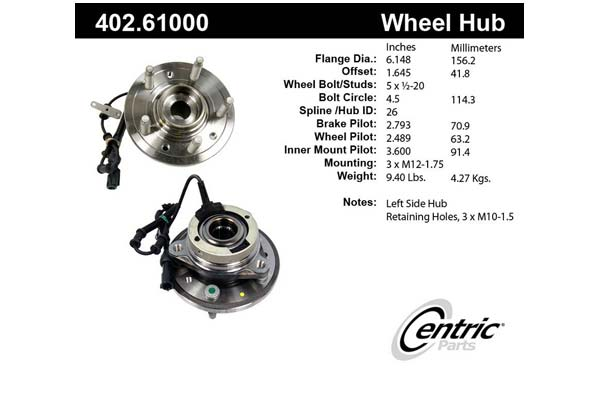 centric-CE 40261000 Fro