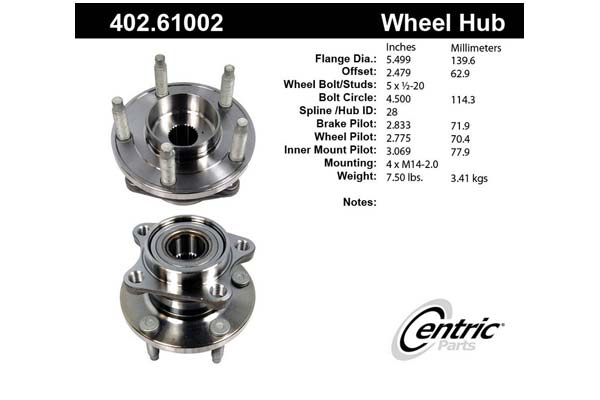 centric-CE 40261002 Fro