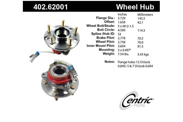 centric-CE 40262001 Fro