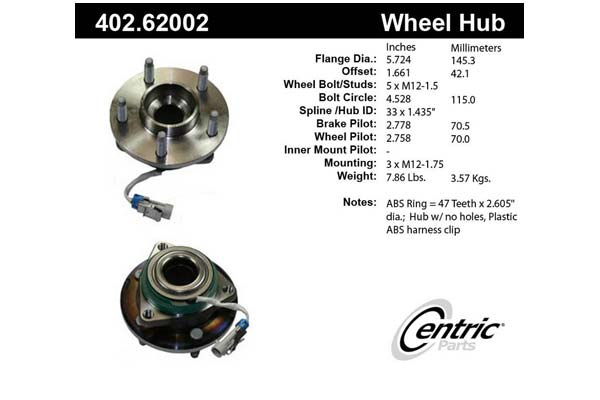 centric-CE 40262002E Fro