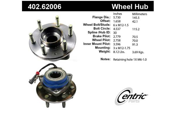 centric-CE 40262006 Fro