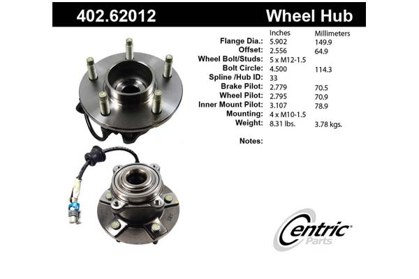 centric-CE 40262012 Fro