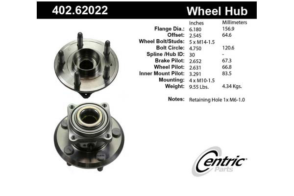 centric-CE 40262022 Fro