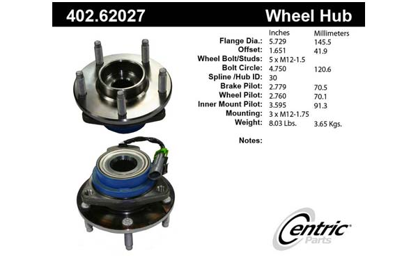 centric-CE 40262027 Fro