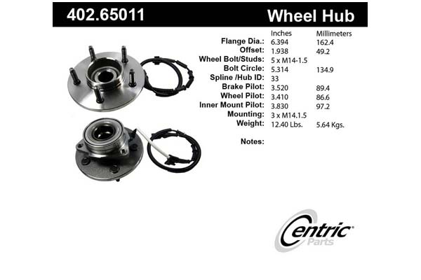 centric-CE 40265011 Fro