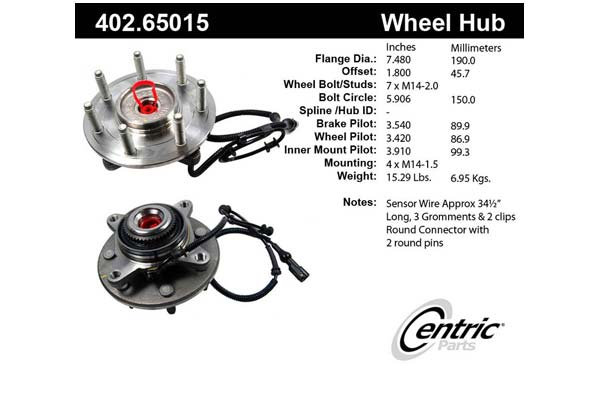 centric-CE 40265015 Fro