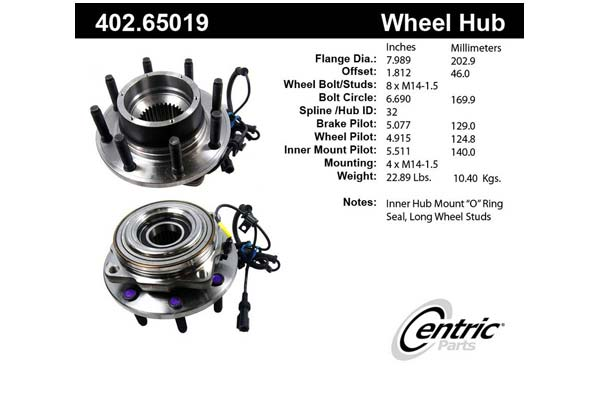 centric-CE 40265019 Fro