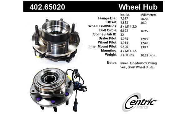 centric-CE 40265020E Fro