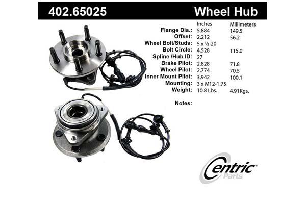 centric-CE 40265025E Fro