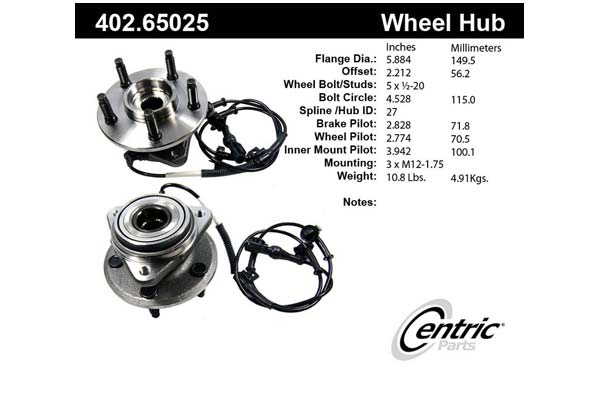 centric-CE 40265025 Fro