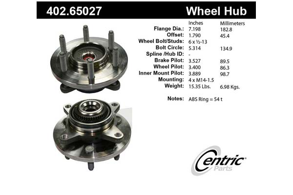 centric-CE 40265027 Fro