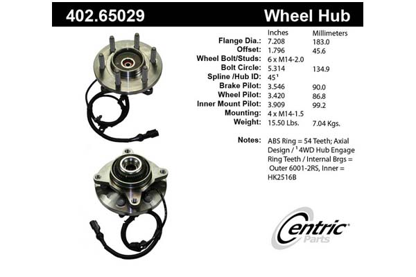 centric-CE 40265029 Fro