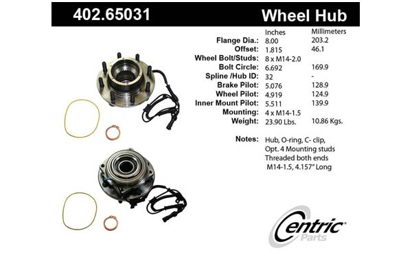 centric-CE 40265031 Fro