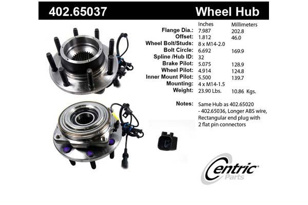 centric-CE 40265037 Fro