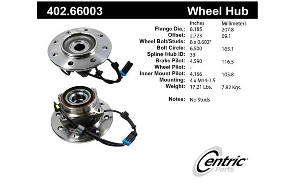 centric-CE 40266003 Fro