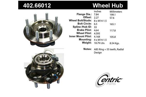 centric-CE 40266012 Fro