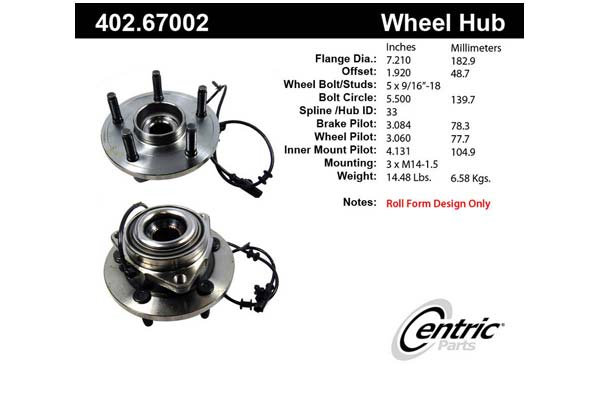 centric-CE 40267002 Fro