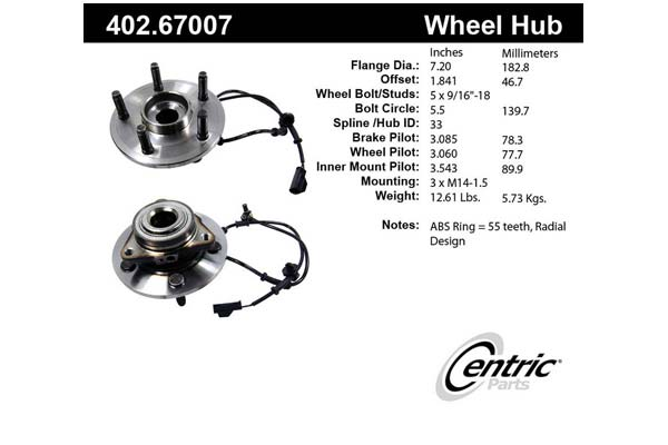 centric-CE 40267007 Fro