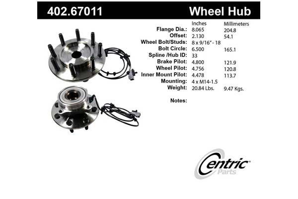 centric-CE 40267011 Fro