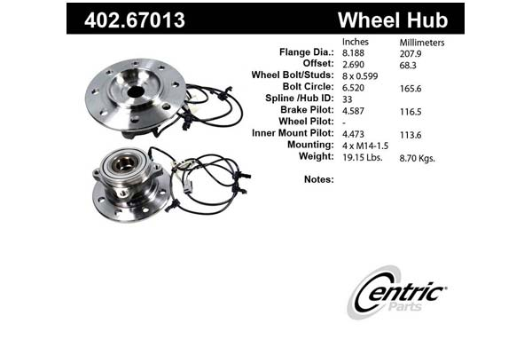 centric-CE 40267013 Fro