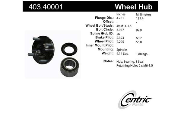 centric-CE 40340001 Fro