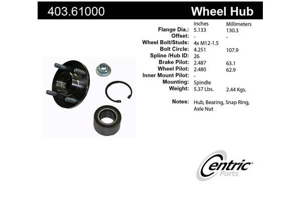 centric-CE 40361000E Fro