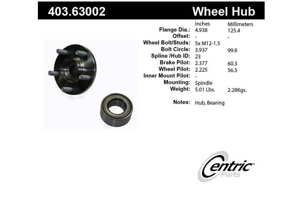 centric-CE 40363002 Fro