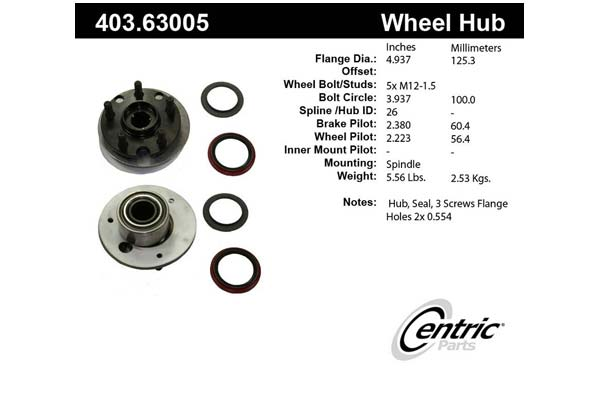centric-CE 40363005 Fro