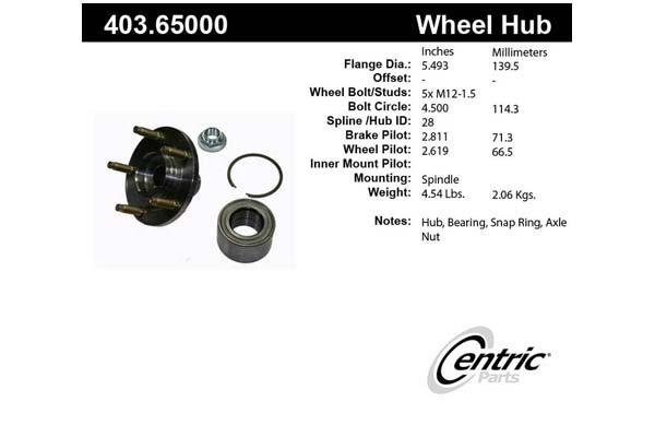 centric-CE 40365000E Fro